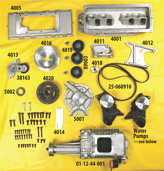 Blower Supercharger Kit For Ford 302: Tom Roberts Designs